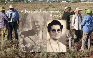 Field trip and Albert and Margaret Morris