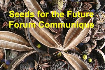 Seeds for the Future  – Communique